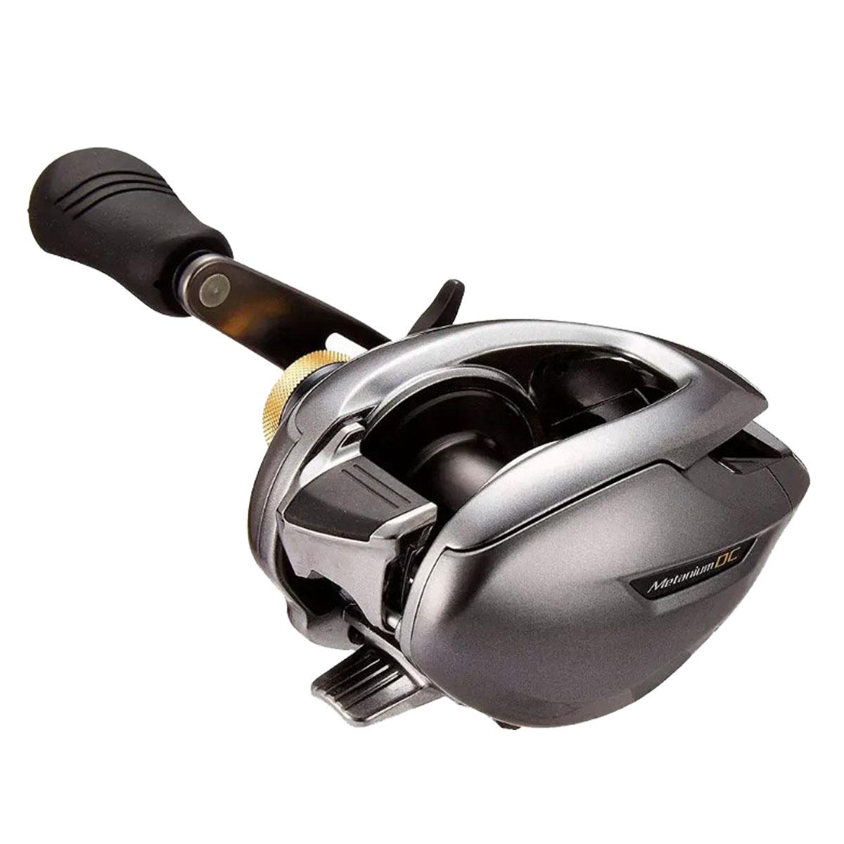 Carretilha Shimano Metanium Dc 101 Xg (Esquerda)  - Pró Pesca Shop