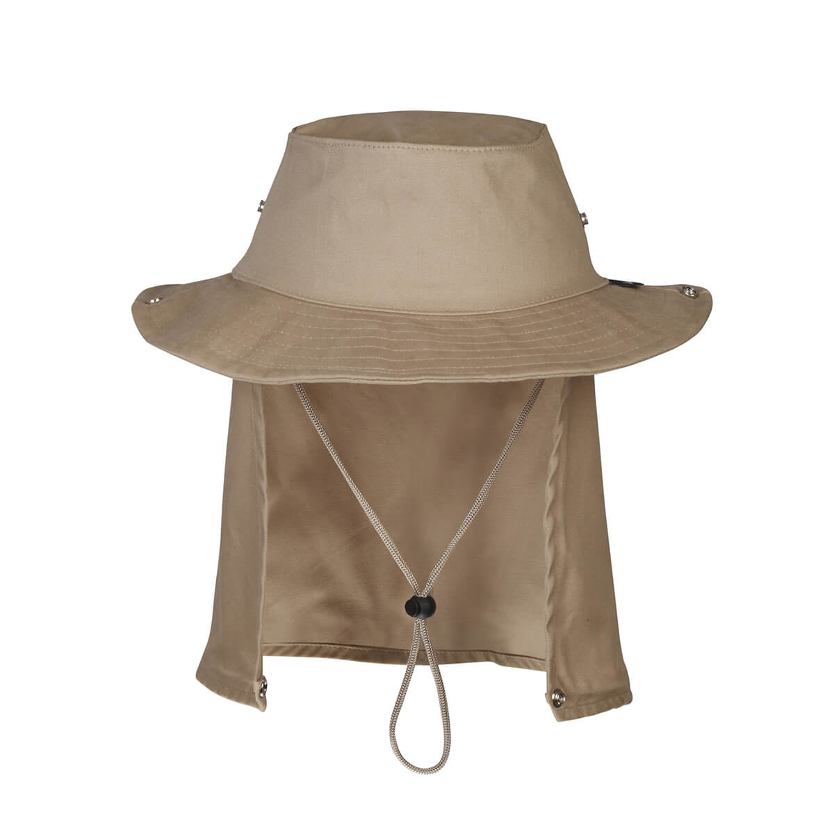 Chapéu c/ Proteção de Pescoço Jogá (Caqui)  - Pró Pesca Shop