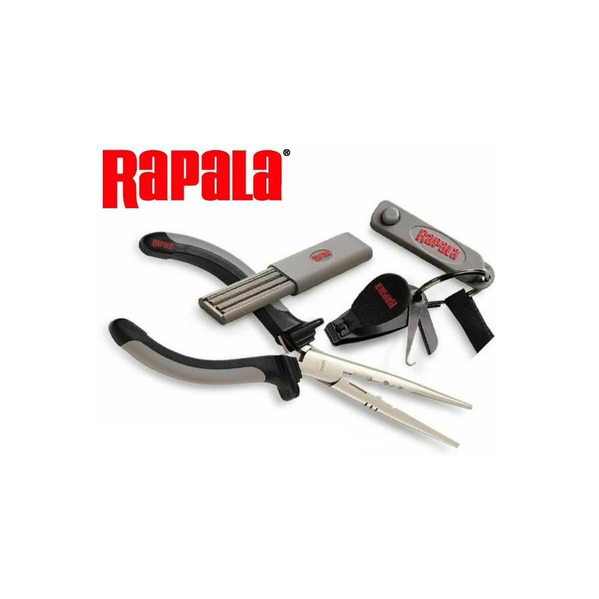 Combo Rapala Pack com Alicate Faca e Cortador de Linha  - Pró Pesca Shop