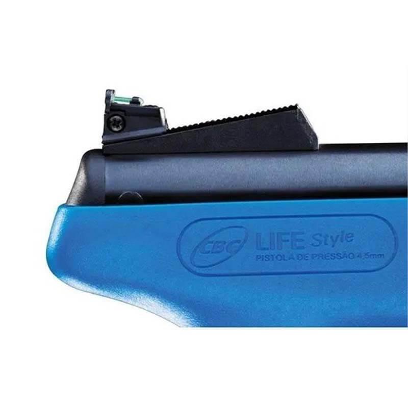 Conjunto Alça De Mira P/ Pistola Life Style (10000933)  - Pró Pesca Shop