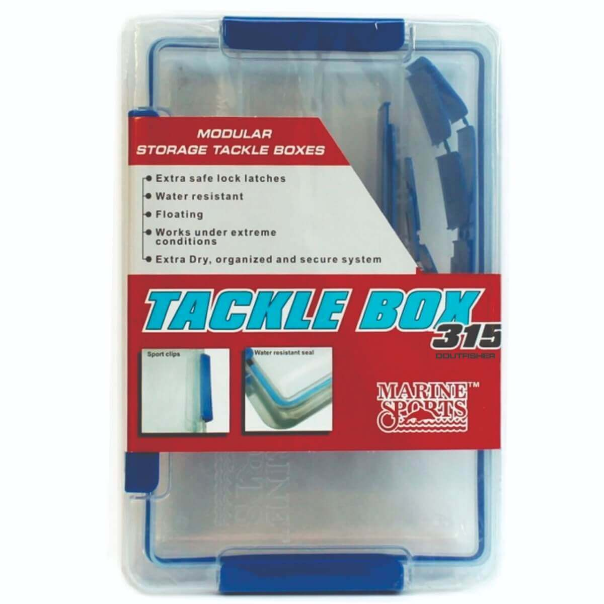 Estojo Tackle Box 315 - Marine Sports
