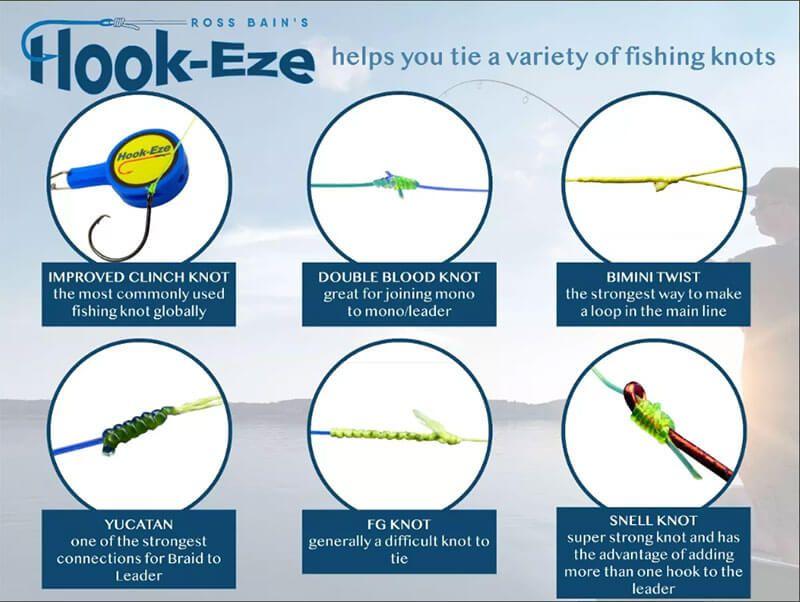 Hook Eze Ferramenta P/ Pesca E P/ Fazer Nó  - Pró Pesca Shop