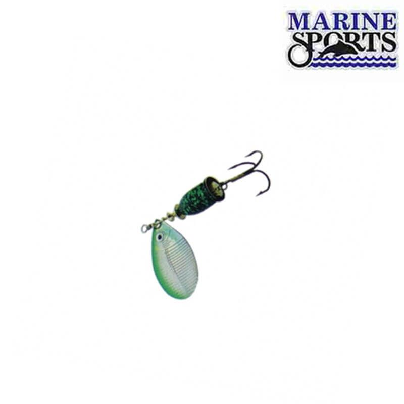 Isca Artificial Marine Sports Spinner Laser 9g