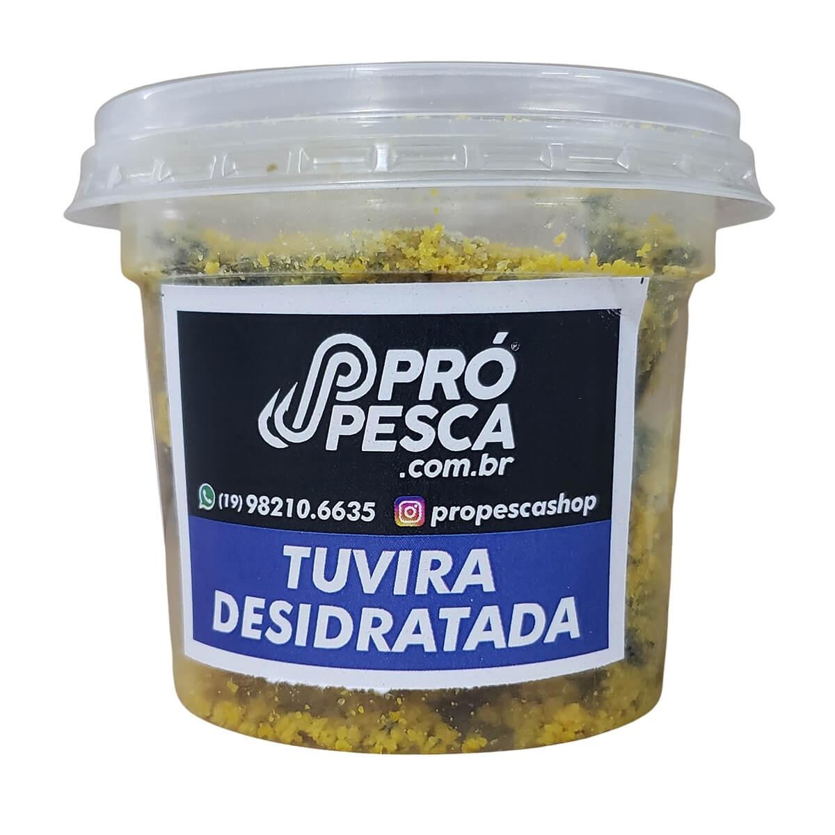 Isca para Pesca Tuvira Desidratada Pró Pesca