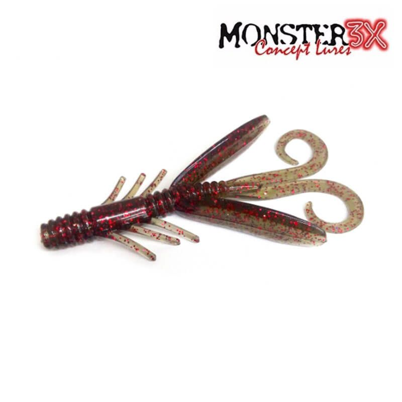 Isca Soft Monster 3X Water Strider  - Pró Pesca Shop