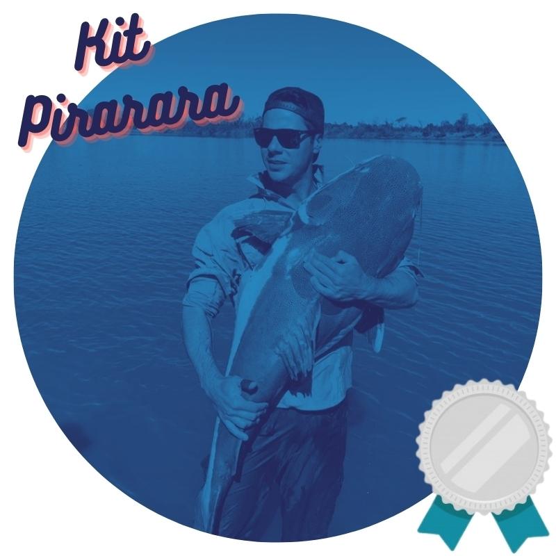 Kit de Pesca Pirarara Prata Intermediário  - Pró Pesca Shop