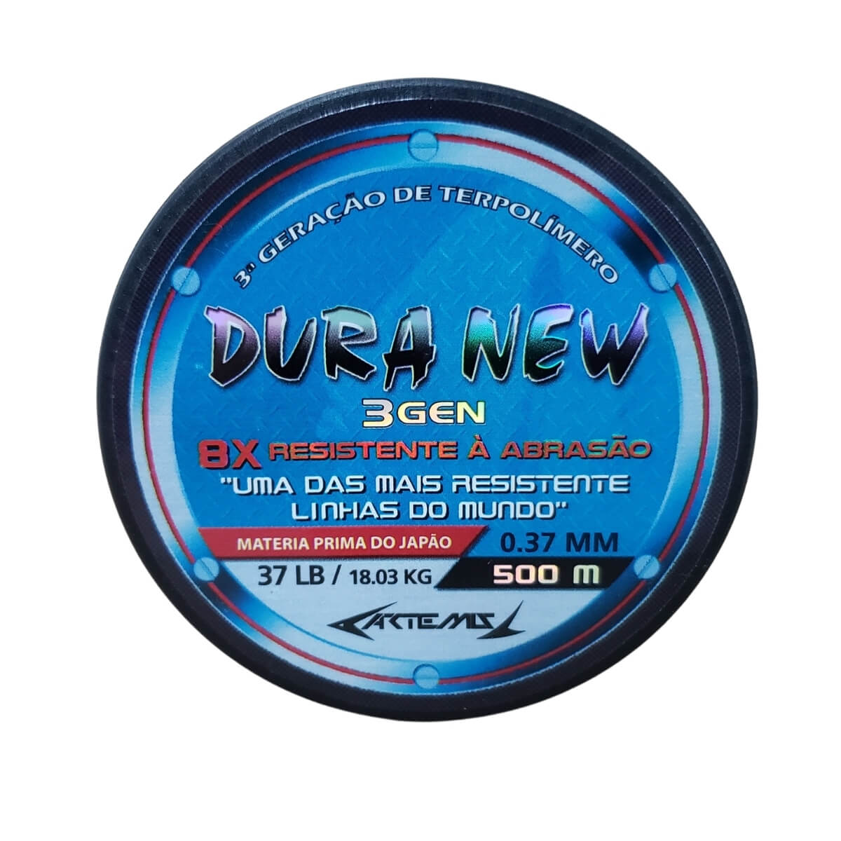 Linha Artemis Dura New Azul 500 m  - Pró Pesca Shop