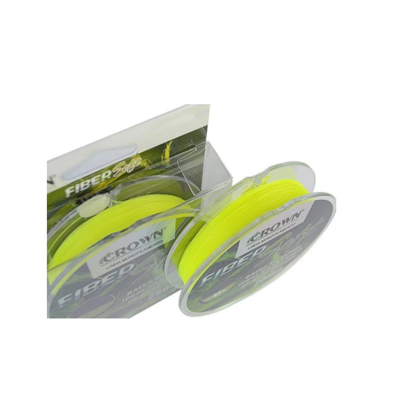 Linha Crown Fiber Soft 0,37 mm 250 m  - Pró Pesca Shop