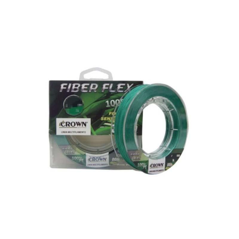 Linha Crown Multi Fiber Flex 4x Verde (100 m)  - Pró Pesca Shop