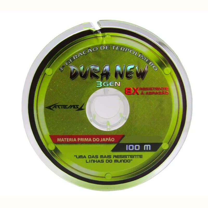 Linha Dura New Artemis Yellow (100 m) - Nova Duranium  - Pró Pesca Shop