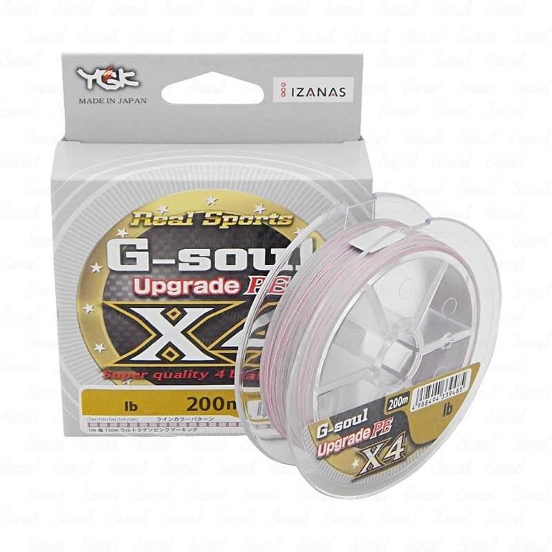 Linha Multifilamento G-Soul Upgrade X4 Ygk (200 m)  - Pró Pesca Shop