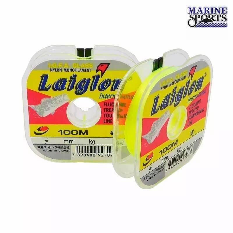 Linha Marine Sports Laiglon Amarela 0,37 mm (100 m)