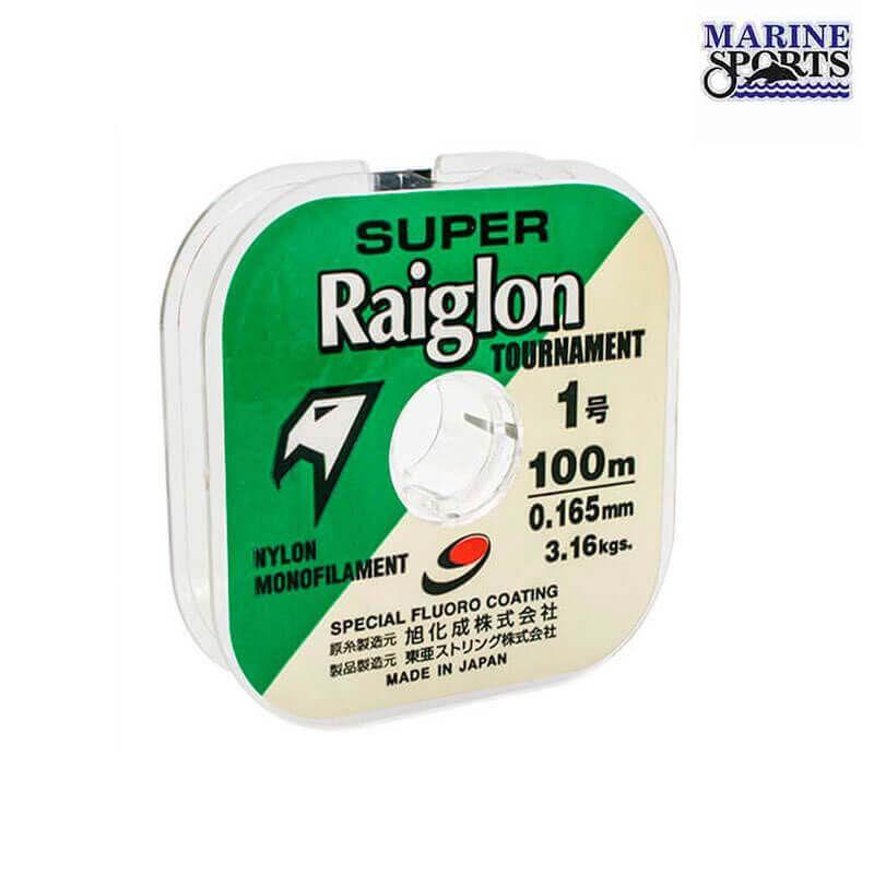 Linha Marine Sports Super Raiglon 0,47 mm (Verde)