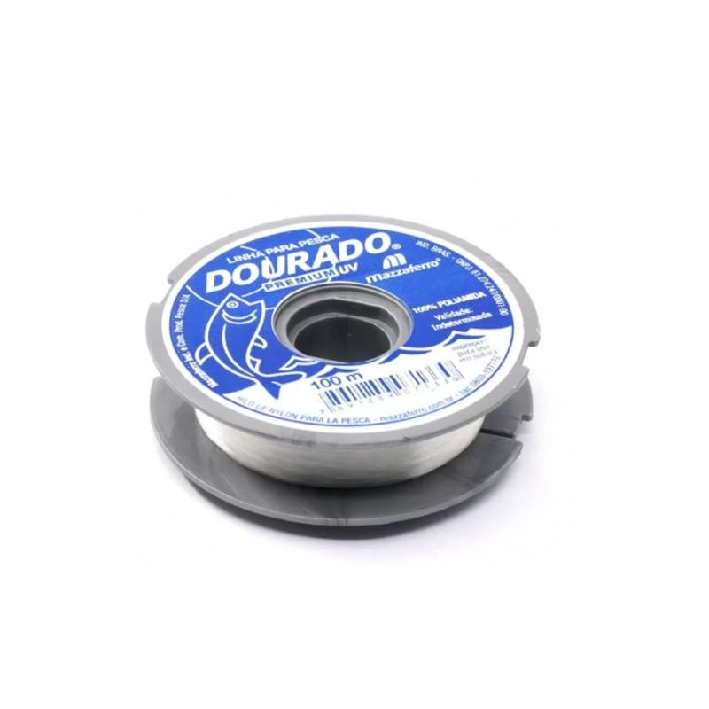 Linha Mazzaferro Dourado Premium (100 m)  - Pró Pesca Shop