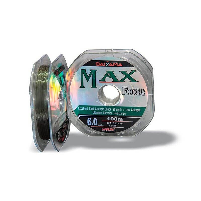 Linha Monofilamento Maruri Max Force 100m