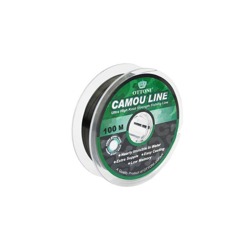 Linha Monofilamento Ottoni Camou Line 100m