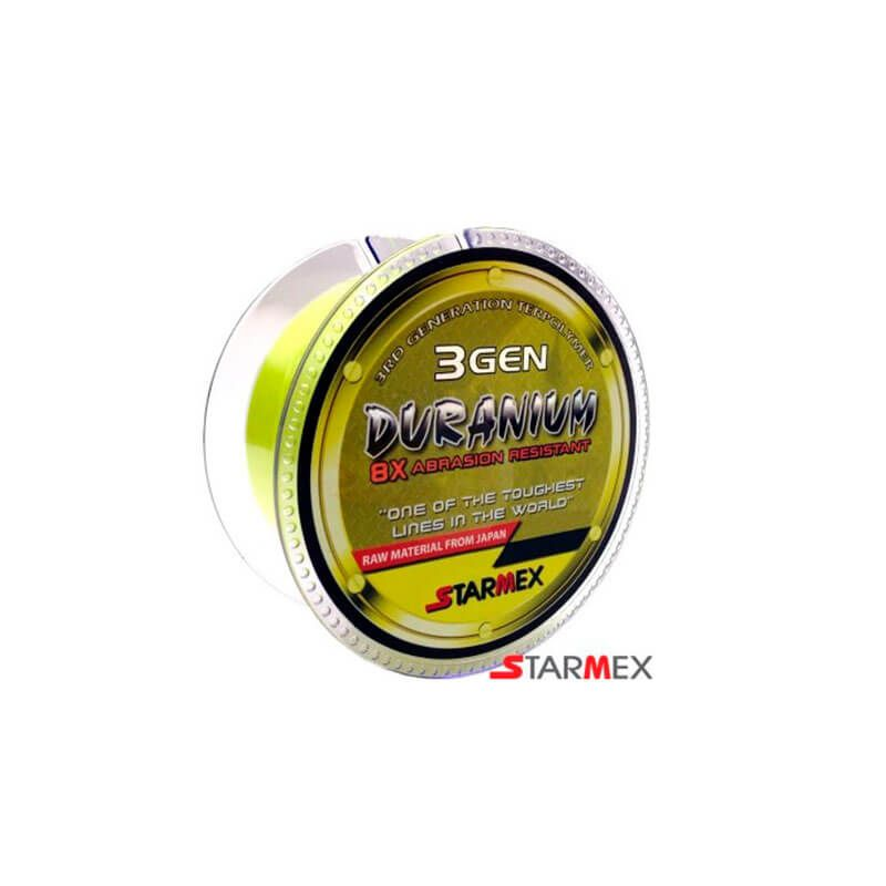 Linha Monofilamento Starmex Duranium Yellow 100m