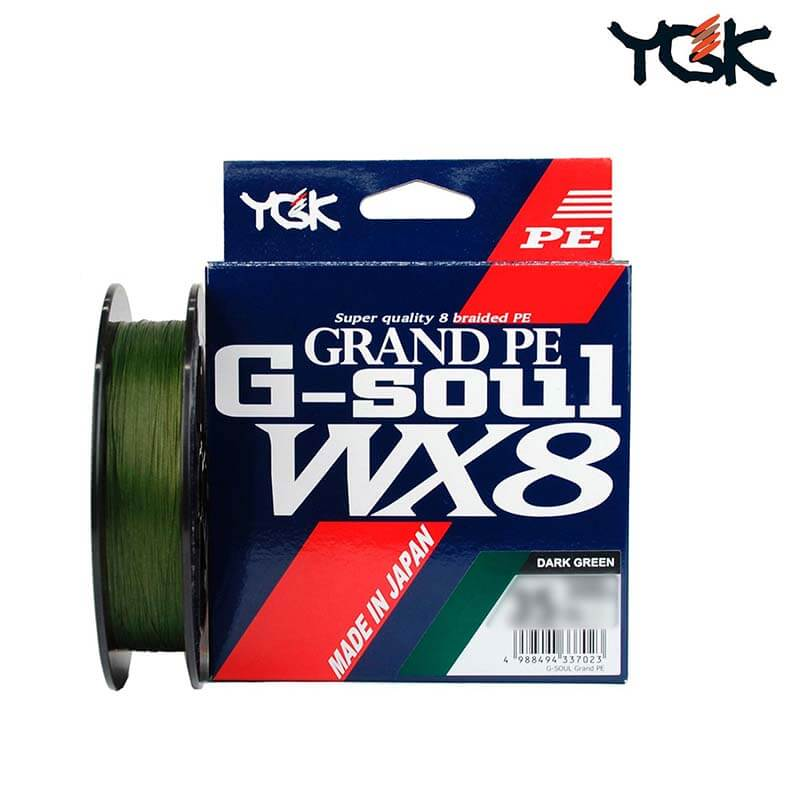 Linha Multifilamento G-Soul Wx8 #5 (0,38 mm - 65 lb) 150 metros