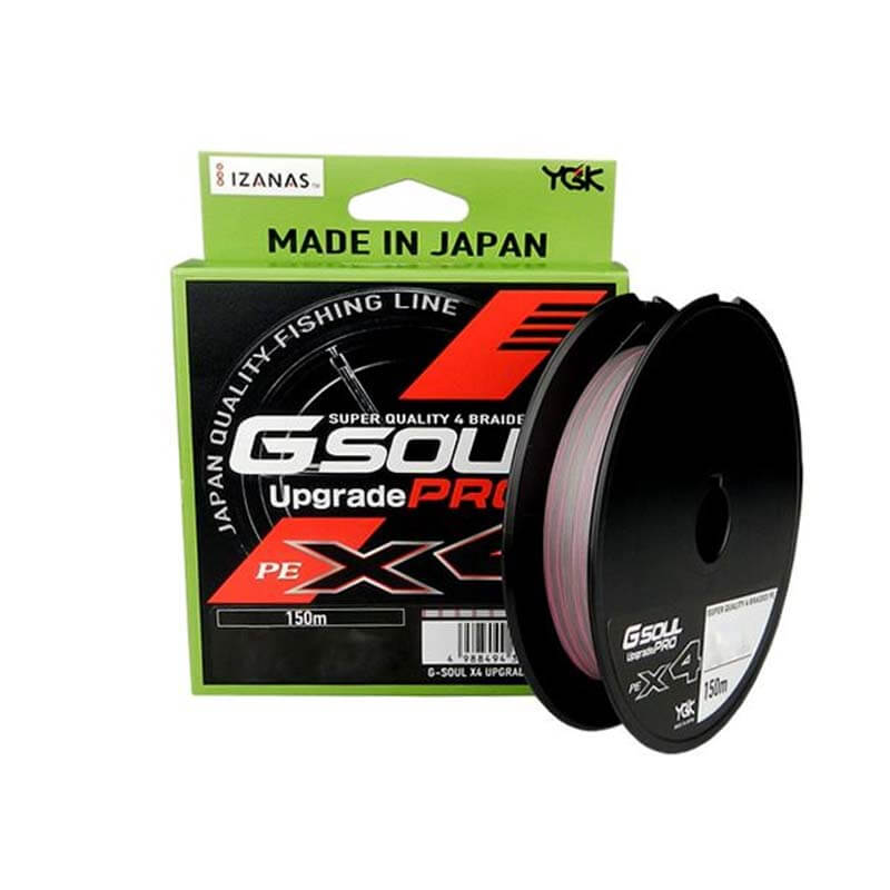 Linha Multifilamento G-Soul Upgrade Pro X4 150m