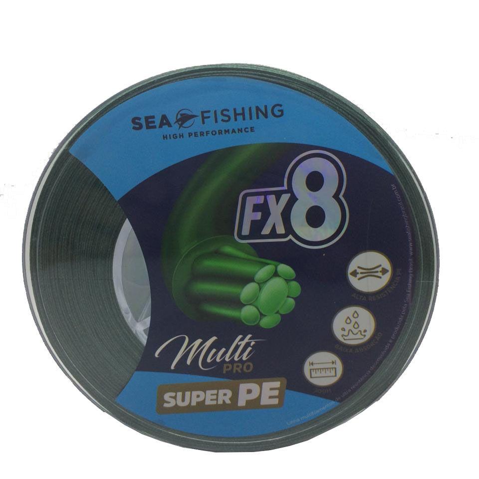 Linha Multifilamento Sea Fishing Fx8