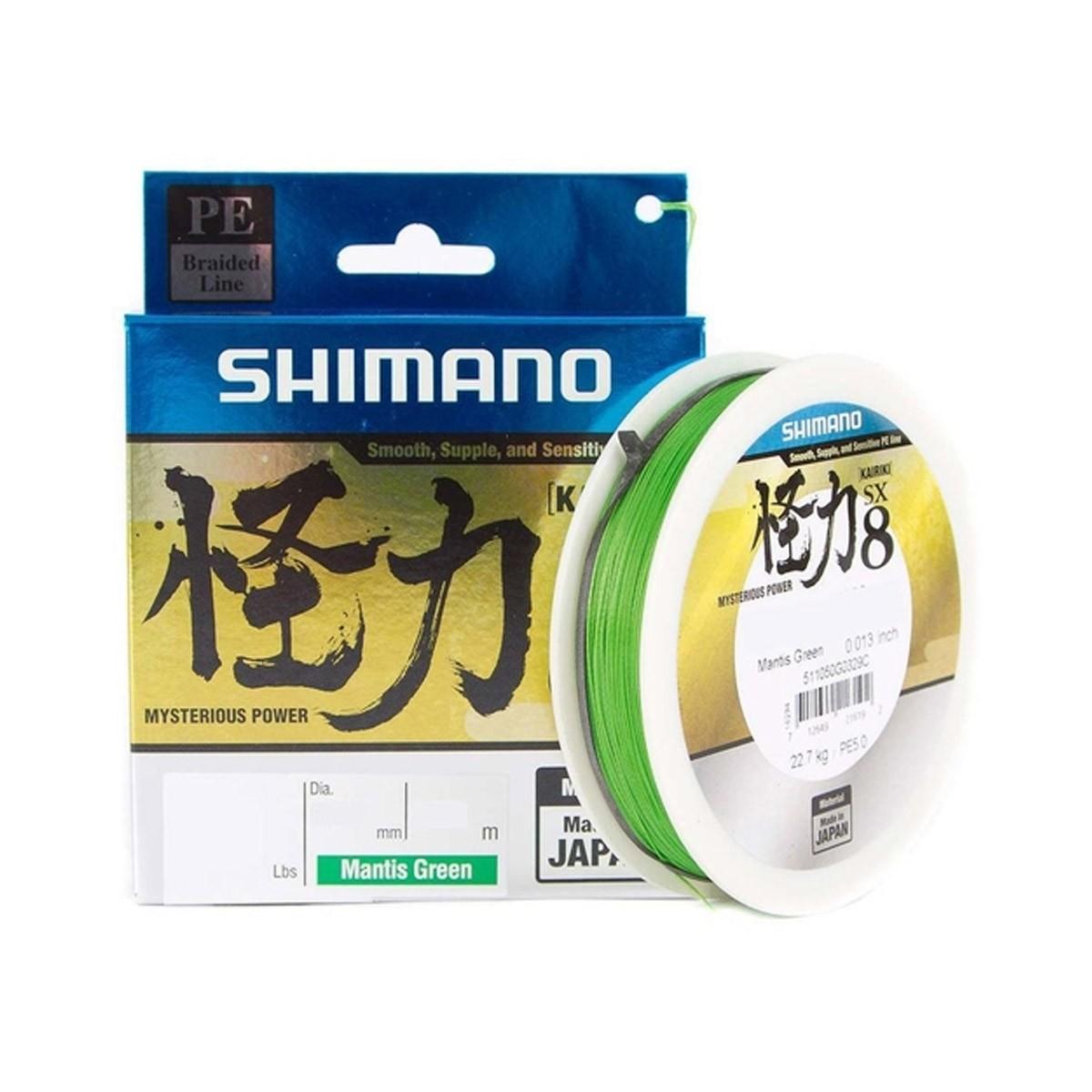 Linha Multifilamento Shimano Kairiki 60 lbs 150 m  - Pró Pesca Shop