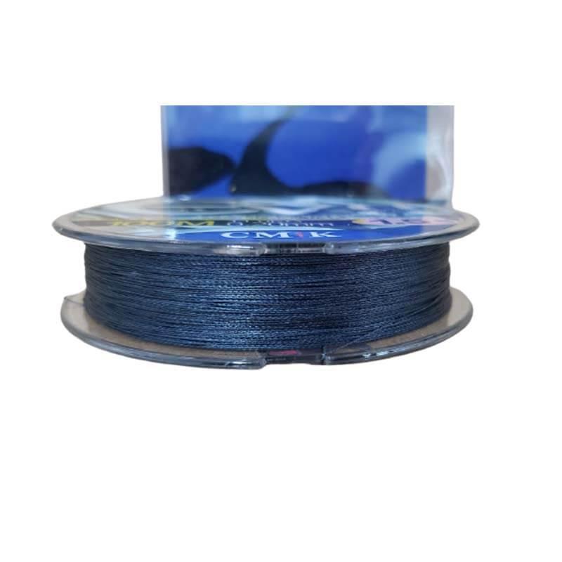 Linha Multifilamento Super 4 Micro Pitch Azul (100 Metros)  - Pró Pesca Shop