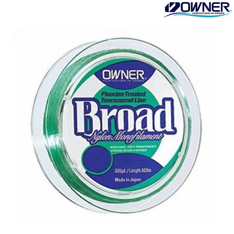 Linha Owner Broad 0,37 Mm (100 Mts)