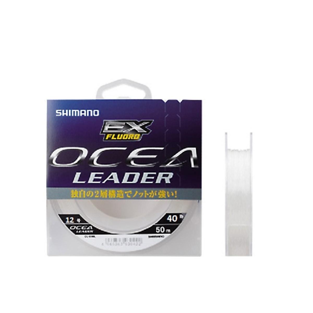 Linha Shimano Ocea Leader 50 m  - Pró Pesca Shop