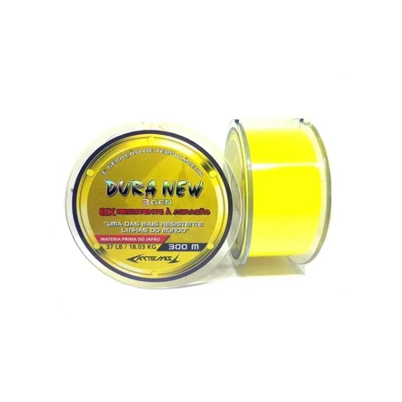 Linha Starmex Duranium Yellow 300 m  - Pró Pesca Shop