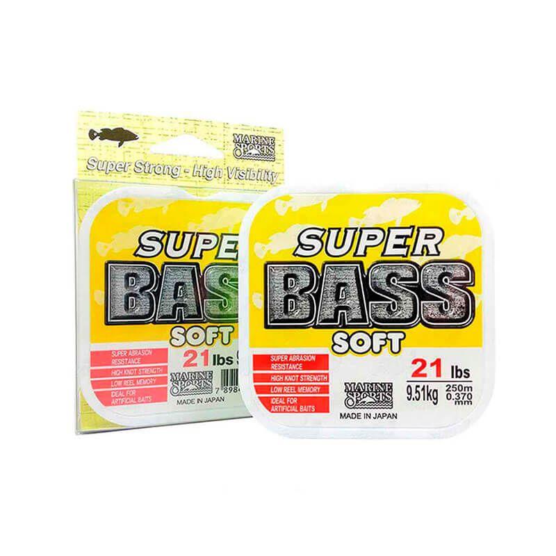 Linha Super Bass Amarela Marine Sports (250 m)