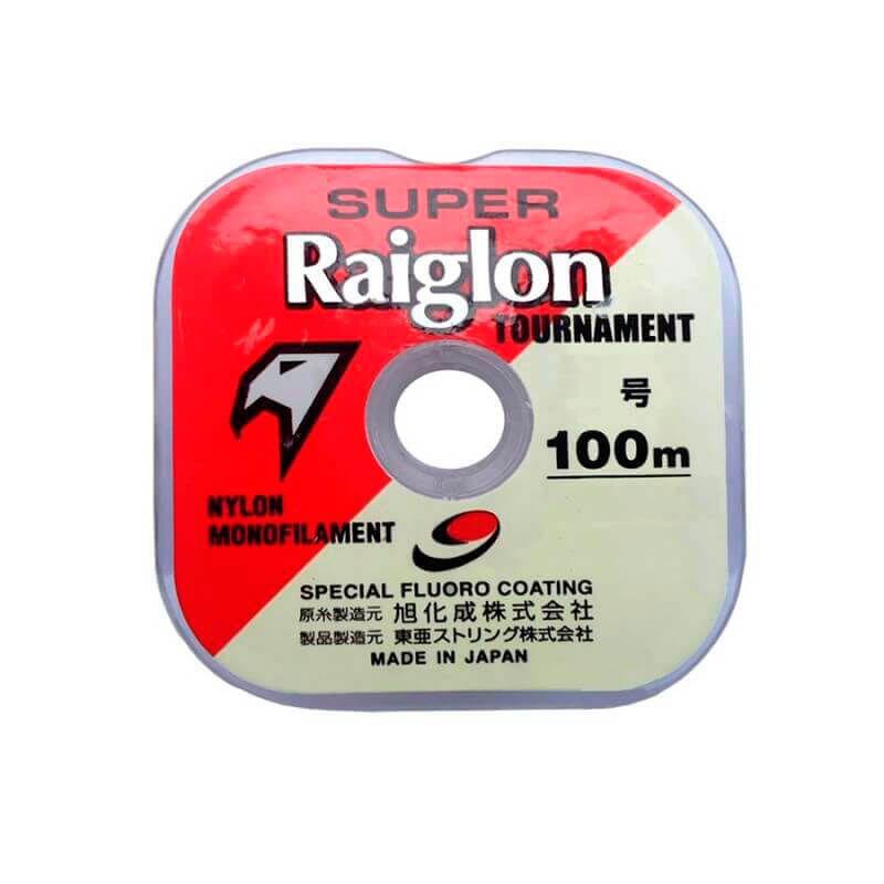 Linha Super Raiglon Marine Sports (100 m)  - Pró Pesca Shop