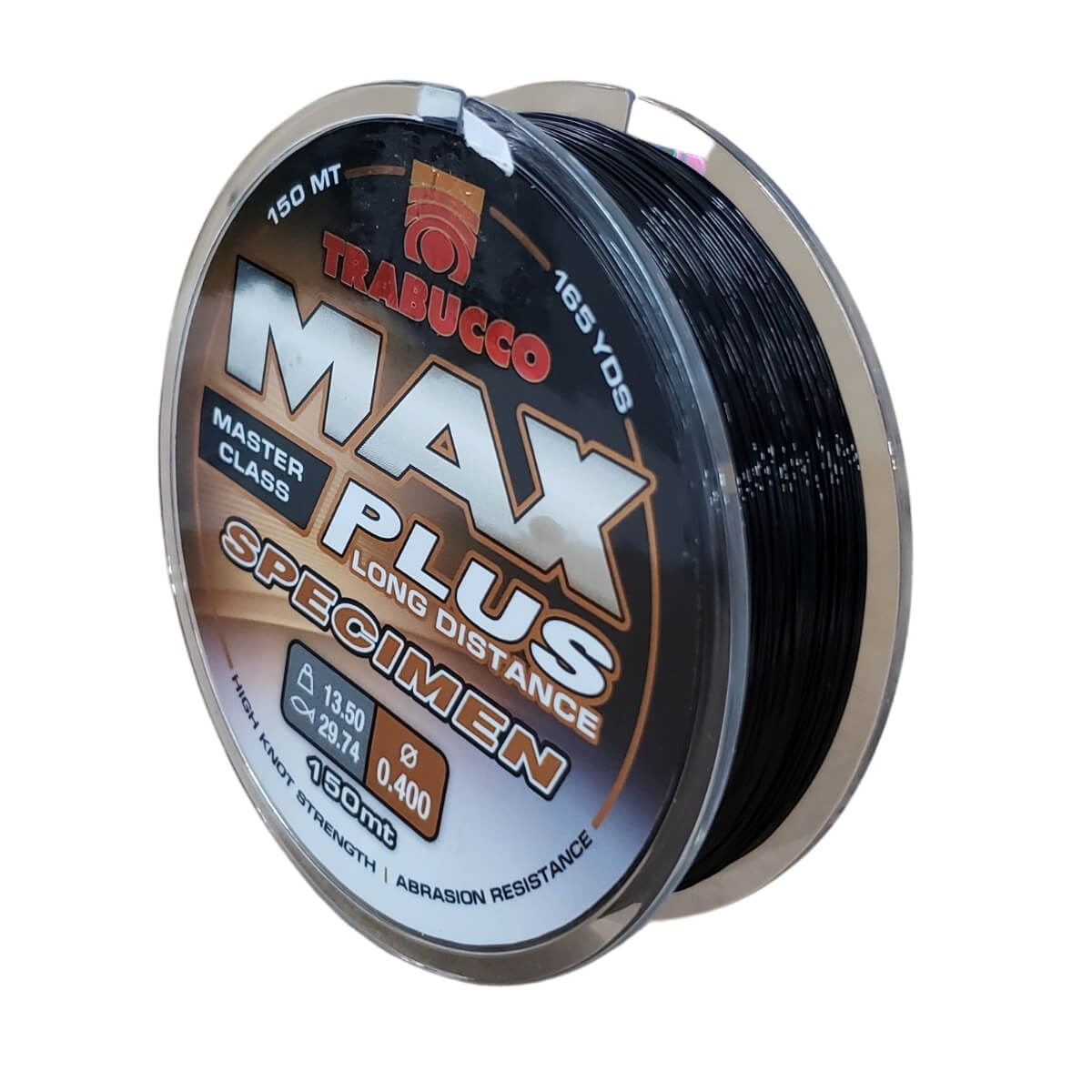 Linha Trabucco Specimen Max Plus Preta 150 m  - Pró Pesca Shop