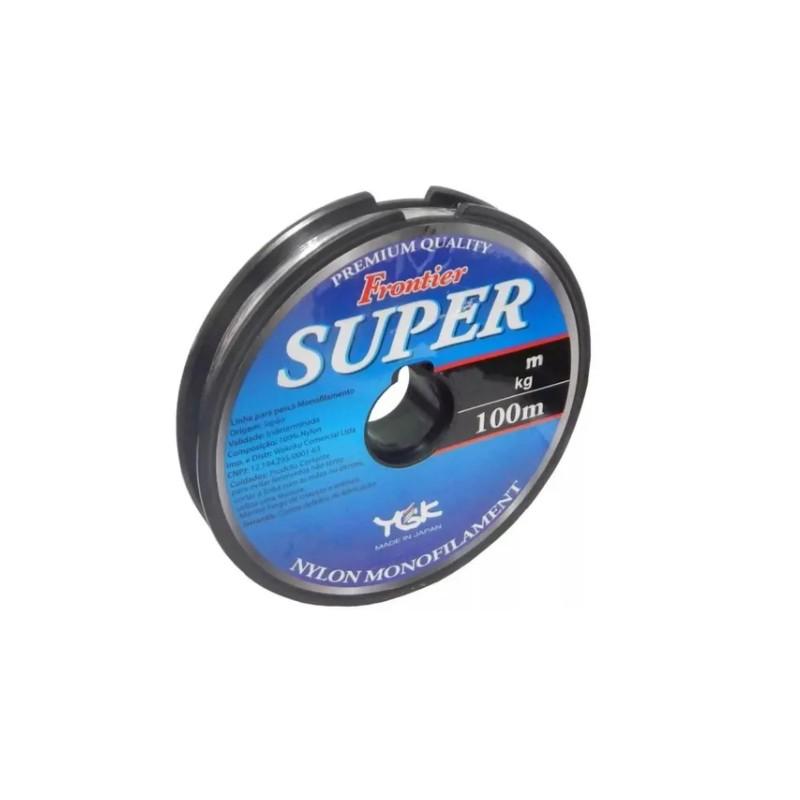 Linha Ygk Frontier Super 0,60 mm 100 m  - Pró Pesca Shop