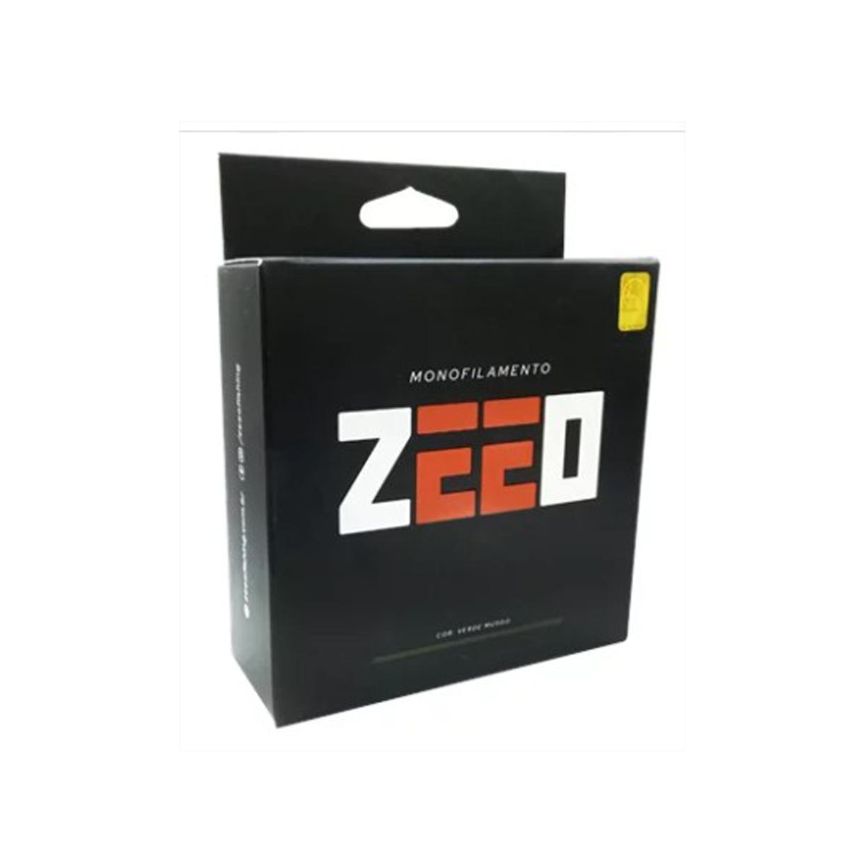 Linha Zeeo Monofilamento 300 m (Verde Musgo)  - Pró Pesca Shop