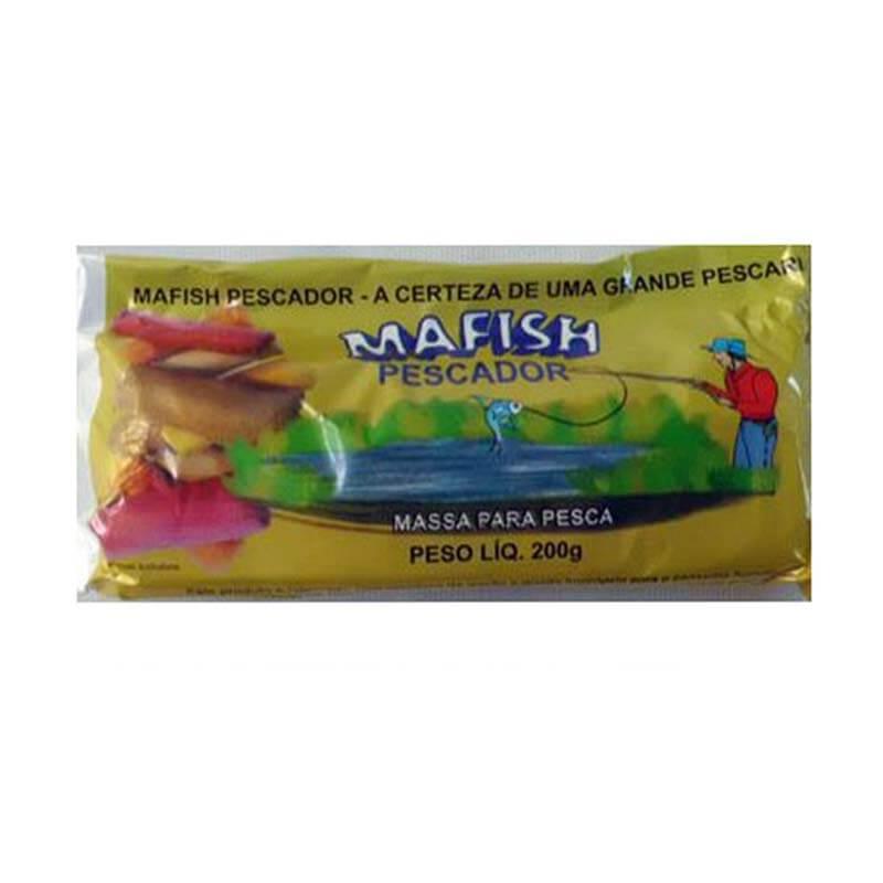 Massa Mafish - Vermelha  - Pró Pesca Shop