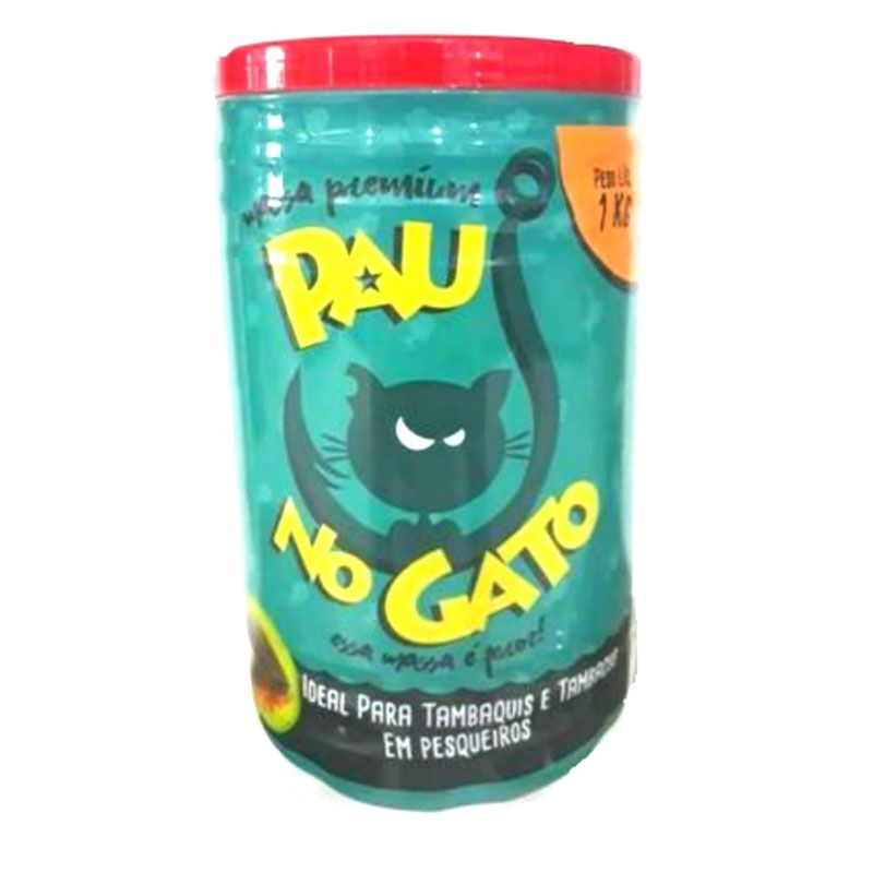 Massa Premium Pau No  Gato  (1 Kg)  - Pró Pesca Shop