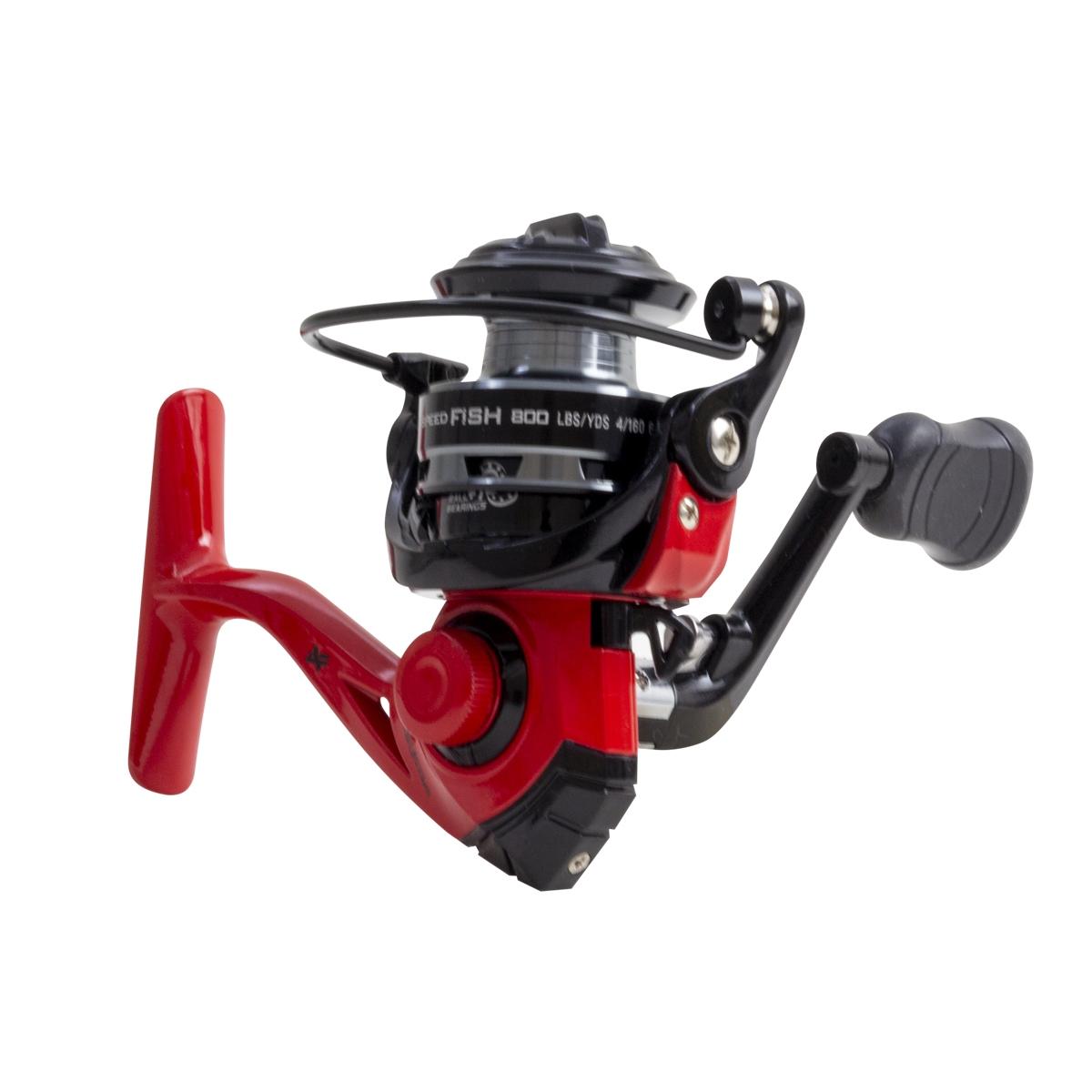 Molinete Micro Albatroz Speedfish 800 Vermelho