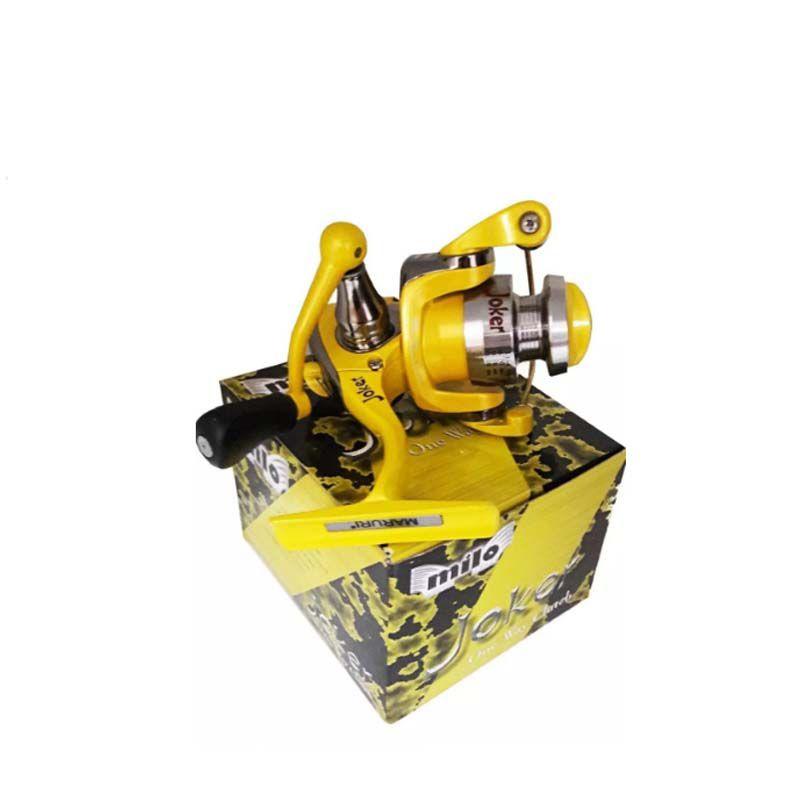 Molinete Maruri Joker (Amarelo)  - Pró Pesca Shop