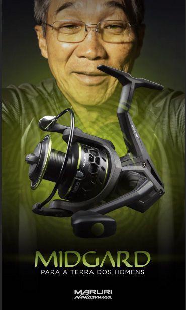 Molinete Maruri Midgard 6 rolamentos  - Pró Pesca Shop