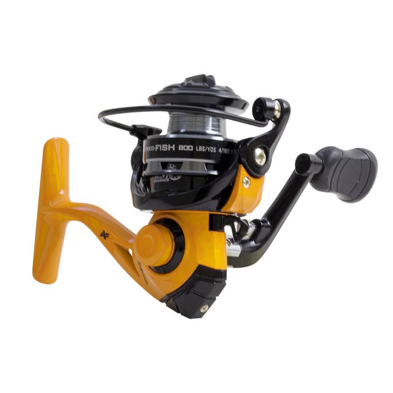 Molinete Micro Albatroz Speedfish 800 Amarelo  - Pró Pesca Shop