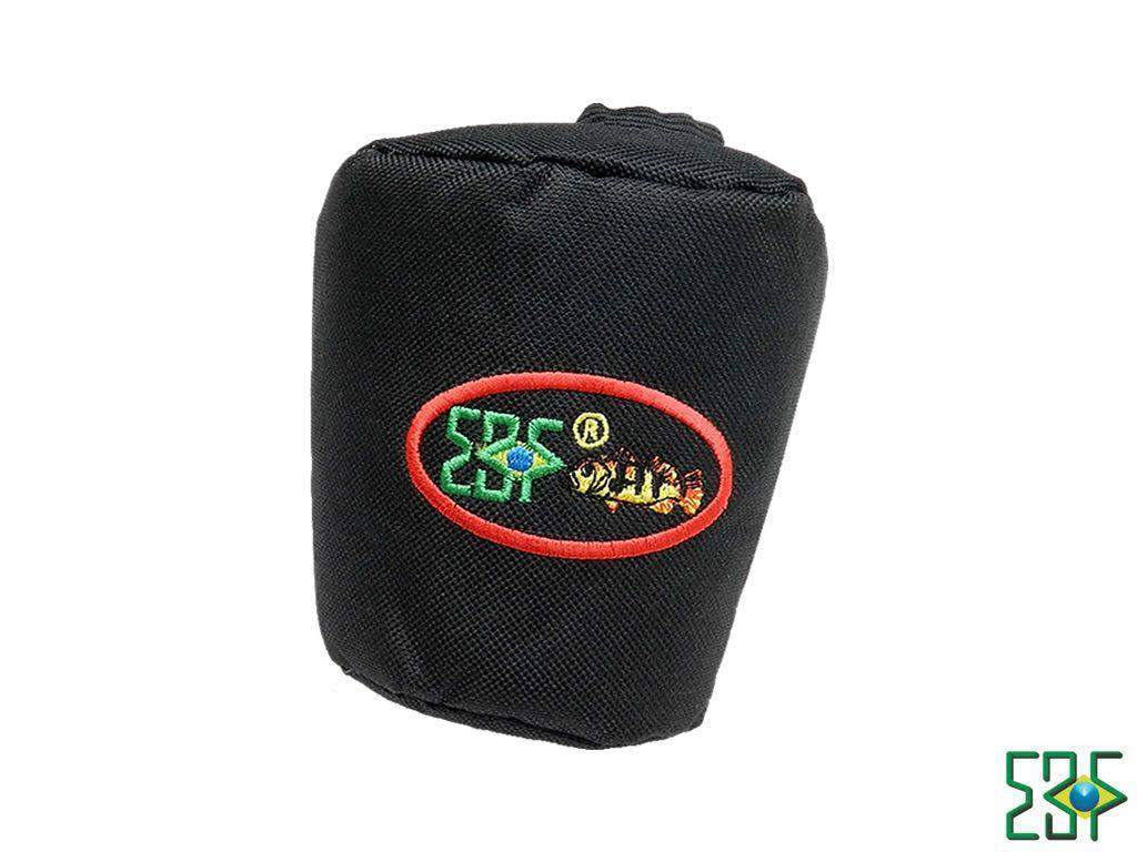 Protetor De Carretilha EBF Alto Float Nylon G-400 - Preto   - Pró Pesca Shop