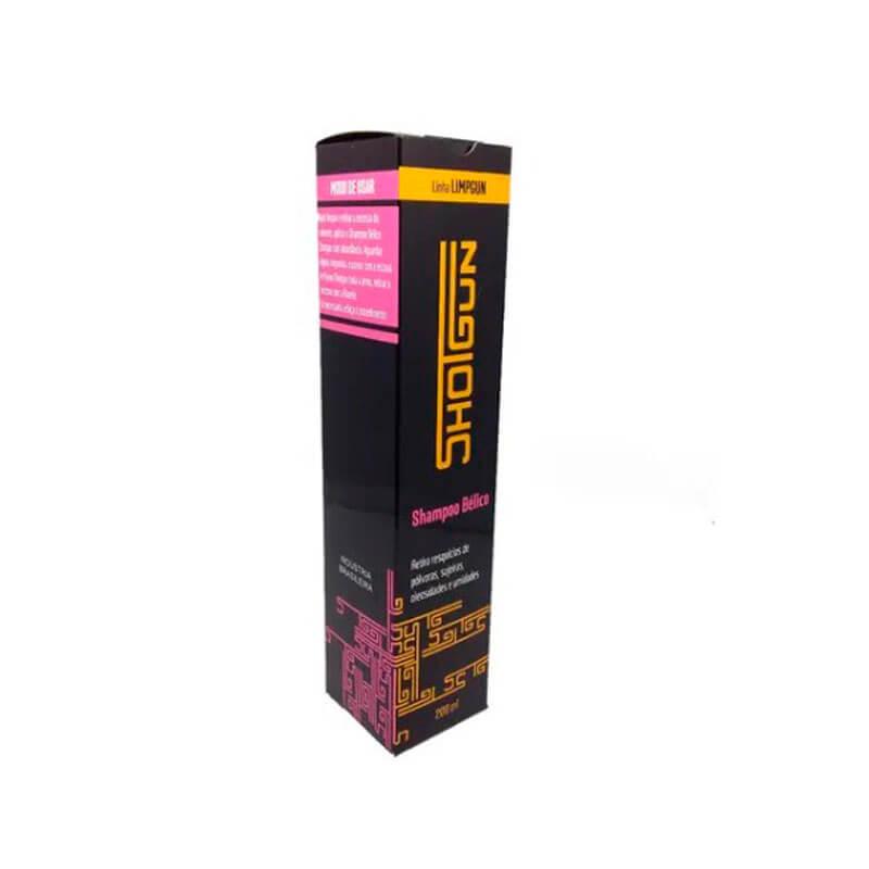 Shampoo Bélico 200 ml p/ Limpeza de Armas Shotgun  - Pró Pesca Shop