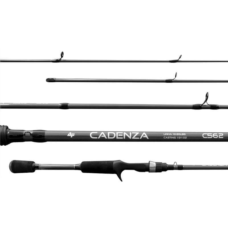 Vara Albatroz Cadenza P/ Carretilha 1,68 m 17 lbs (Inteiriça)  - Pró Pesca Shop