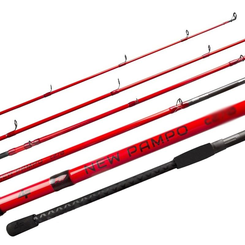 Vara Albatroz Fishing New Pampo Red C2402 (Car)