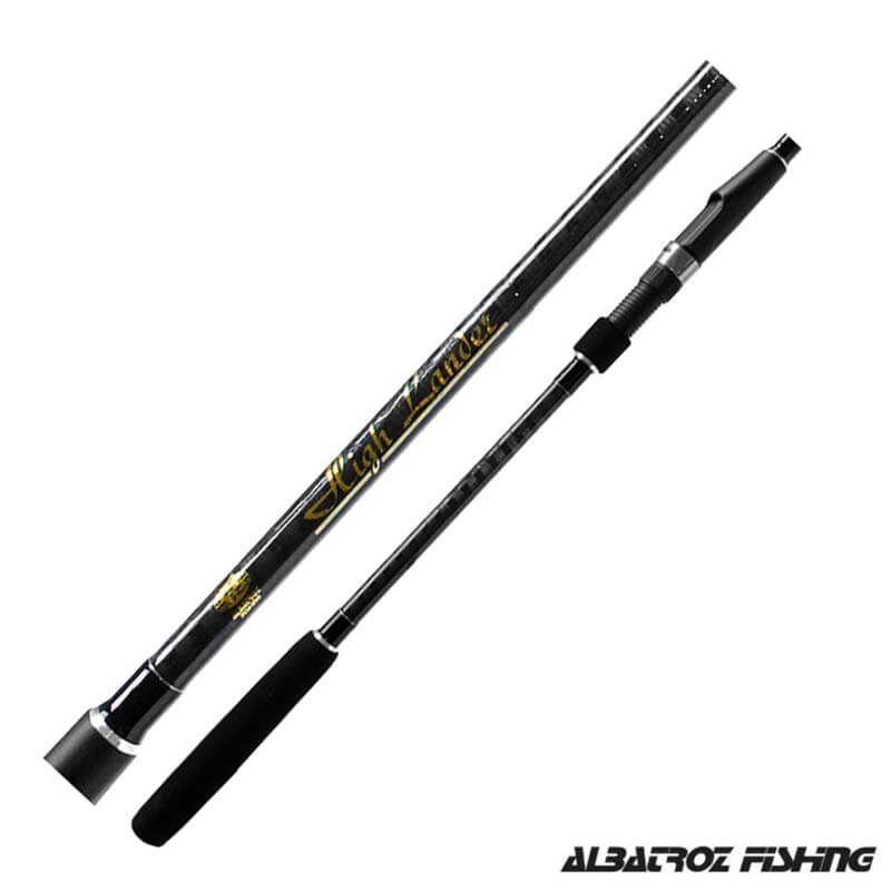 Vara Albatroz High Lander p/ Molinete 8' 2,40m 24 lbs (2 partes)