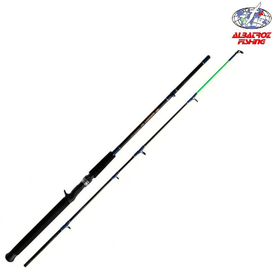 Vara Albatroz Manjuba p/ Carretilha 1,65 m 20 lbs (2 partes)  - Pró Pesca Shop
