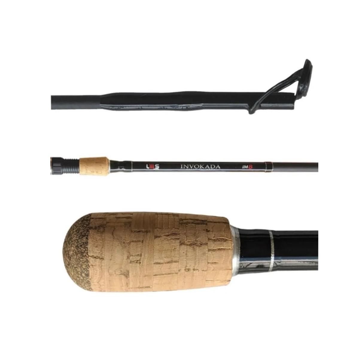 Vara Lumis Invokada p/ Carretilha 2,70 m 50 lbs (2 partes)  - Pró Pesca Shop
