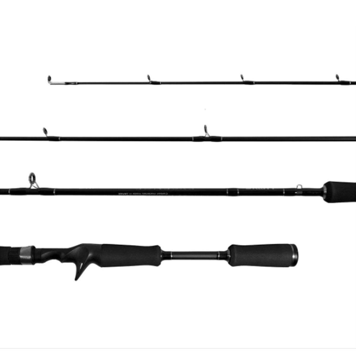 Vara Lumis Exsence p/ Carretilha 1,68 m 20 lbs (2 partes)  - Pró Pesca Shop
