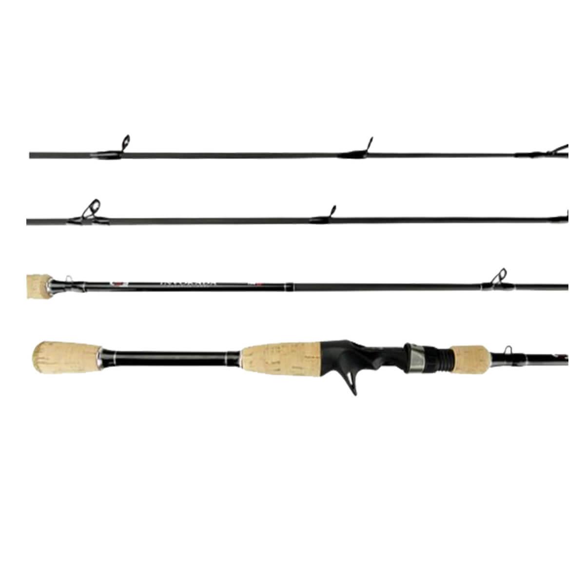Vara Lumis Invokada p/ Carretilha 2,40 m 50 lbs (2 partes)  - Pró Pesca Shop