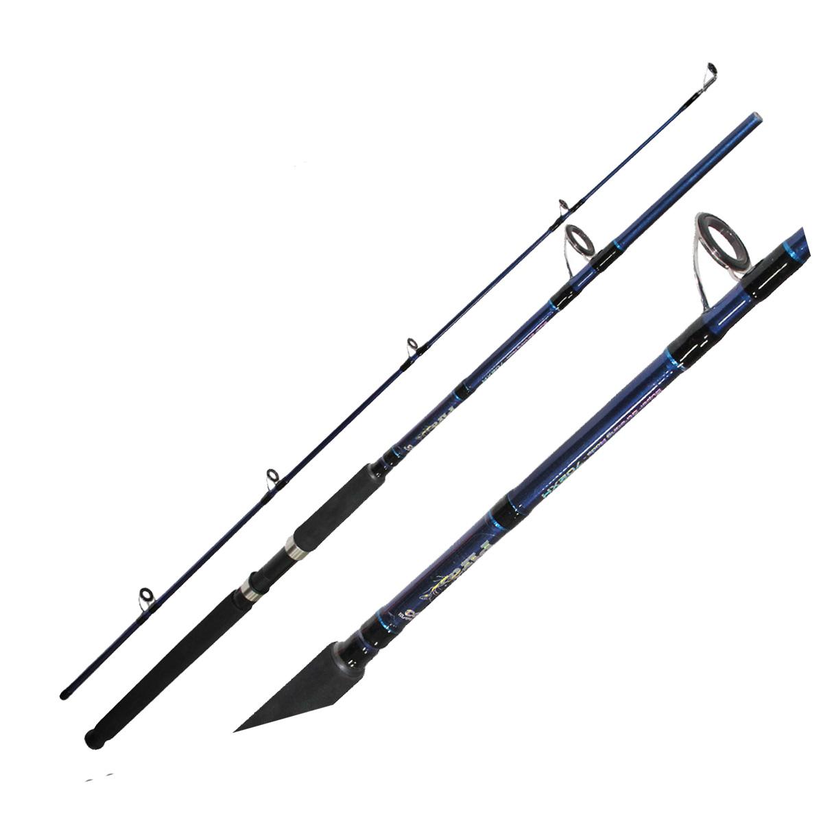 Vara Maruri Pira p/ Molinete 2,13 m 80 lbs (2 partes)  - Pró Pesca Shop